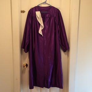 Other - Like New Graduation Gown & Collar